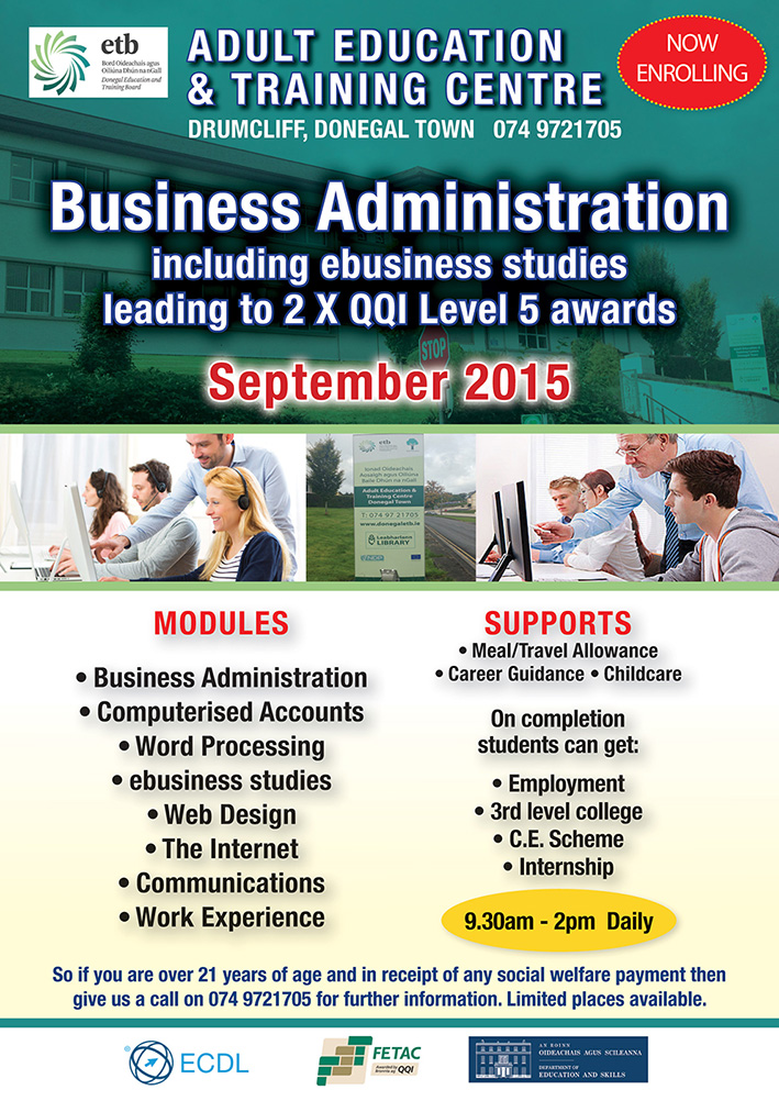 A course on business administration