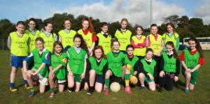 Team 5 at Crana College's Gaelic Blitz
