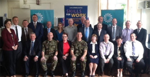 Finner Camp Bundoran, Co. Donegal:   Defence Forces participate in Skills for Work Course