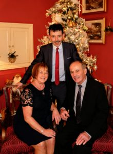 Back Row: Martin Gormley, Director of Schools Front Row: Mary & Tommy Kerr