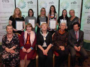 Donegal ETB Donegal Town Childcare learners