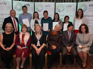 Donegal ETB Donegal Town VTOS learners
